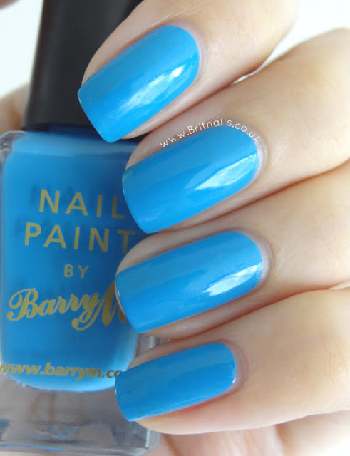 Barry M Cyan Blue