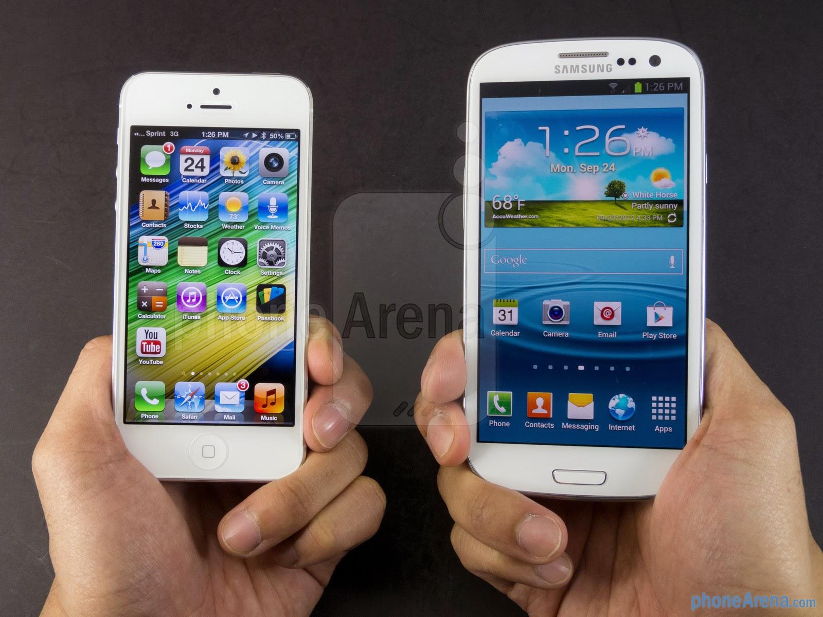 Qual o melhor: IPhone 5 ou Samsung Galaxy S4