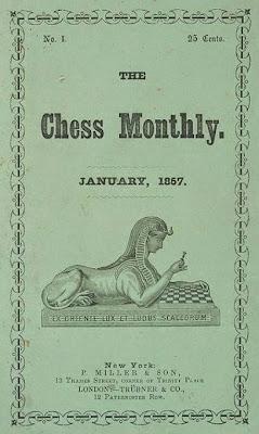 Número uno de la revista Chess Monthly