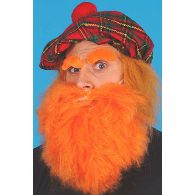funny Red Headed Scotsman