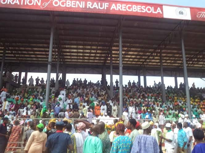Osun: Governor Rauf Aregbesola's 2nd Term inauguration (Photos)