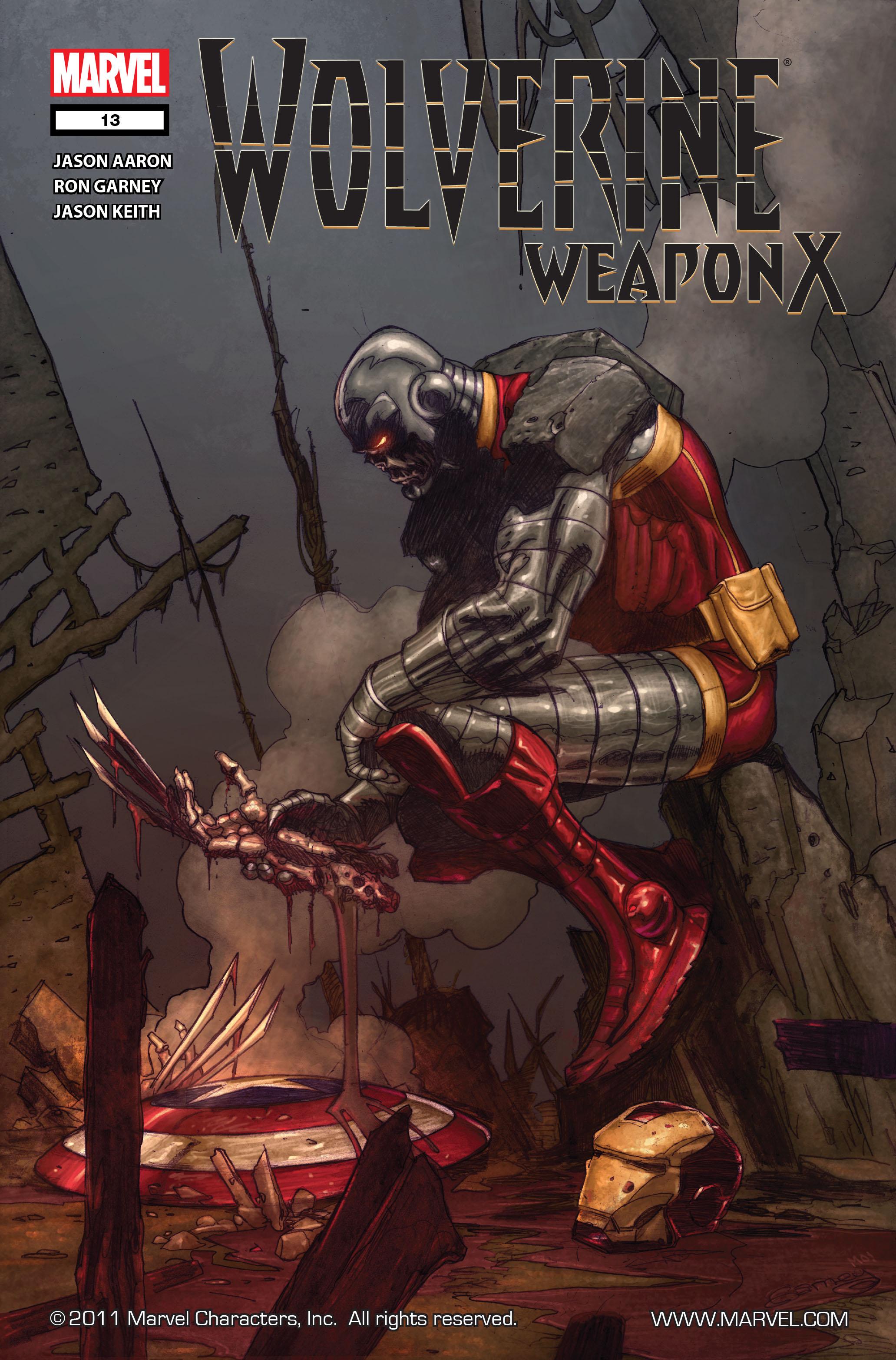 Wolverine: Weapon X #13 #4 - English 1