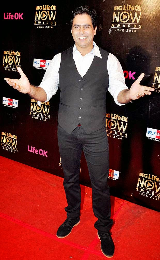 Aman Verma At Life Ok Now Awards 2014