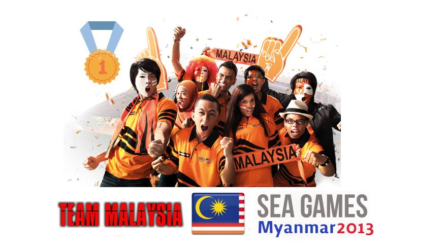 TEAM MALAYSIA @ Sea Games 2013