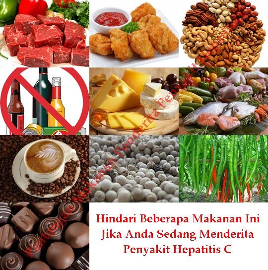 Pantangan Makanan Penderita Penyakit Hepatitis C