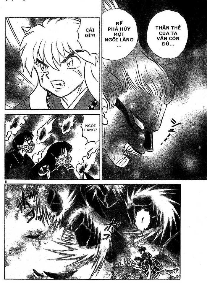 Inuyasha-Khuyển Dạ Xoa-Bản Đẹp chap 518 Trang 6