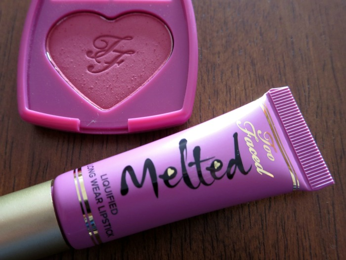 Too Faced Melted Fig & Your Love is King