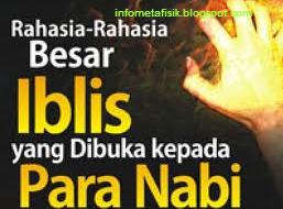 Rahasia-Rahasia Besar yang Di Buka Kepada Nabi Muhammad SAW