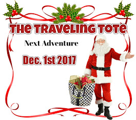 Tales of the Traveling Tote Series: Next Installment Coming Dec 1, 2017