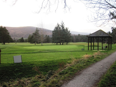 Deeside walks: the route passes Ballater Golf Course