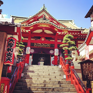 Tokudaiji Temple, off Ameyokocho, Tokyo.