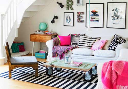 Primavera 2015 10 ideas para decorar tu sala con estilo - Estilo boho chic decoracion ...
