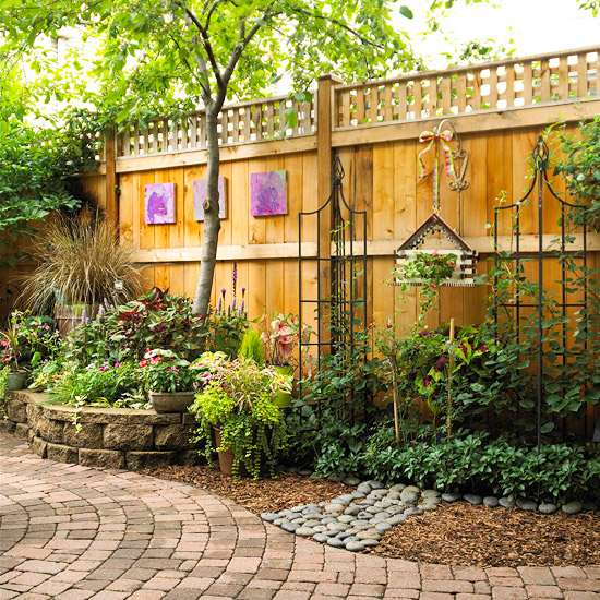 get landscaping ideas for creating a private secluded yard by kelly