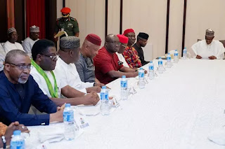 I gave southeast four substantive ministers - Buhari to southeast leaders