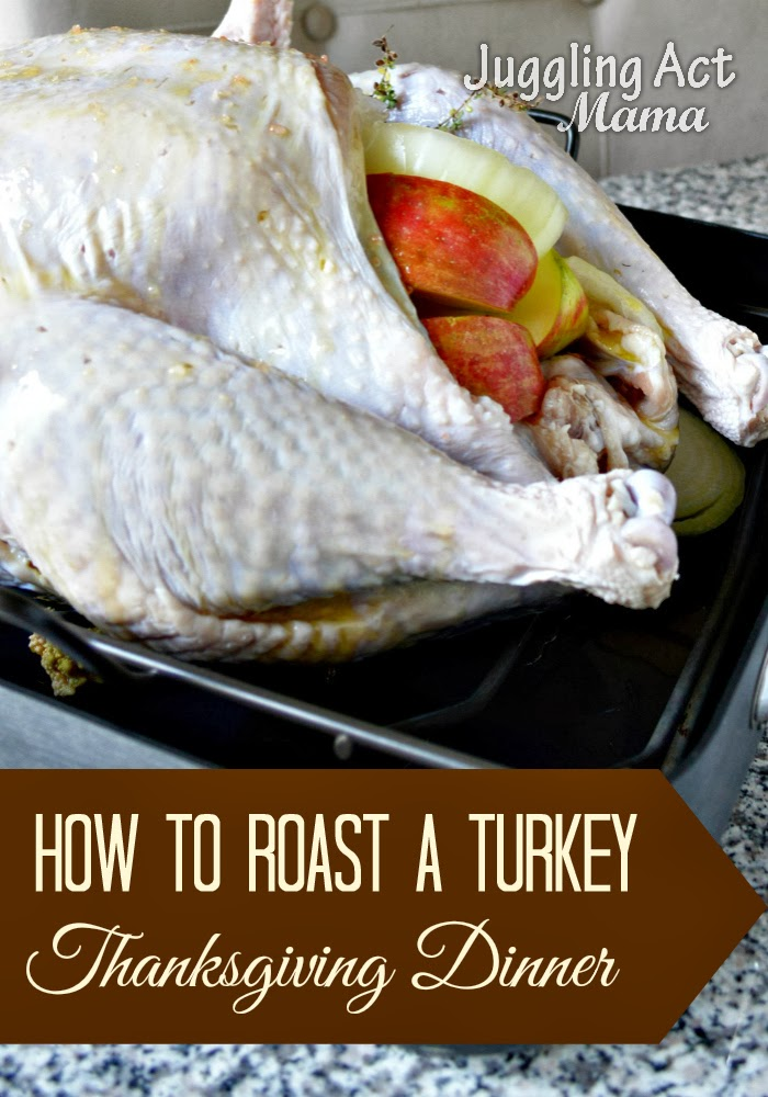 How to Brine and Roast a Thanksgiving Turkey - Juggling ...