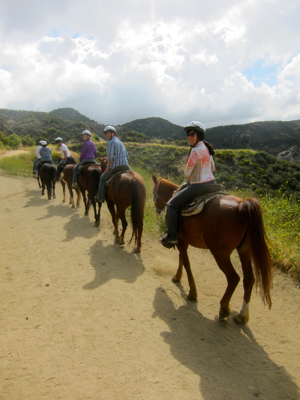 horseback riding los angeles griffith park