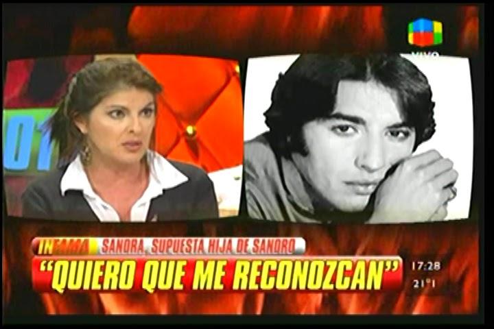Noticias Del Espectaculo Sandra La Supuesta Hija De