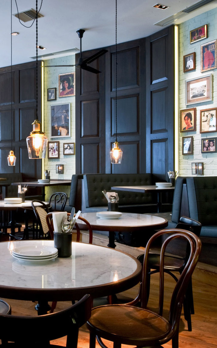 Kaper design restaurant hospitality design inspiration for Restaurant design london