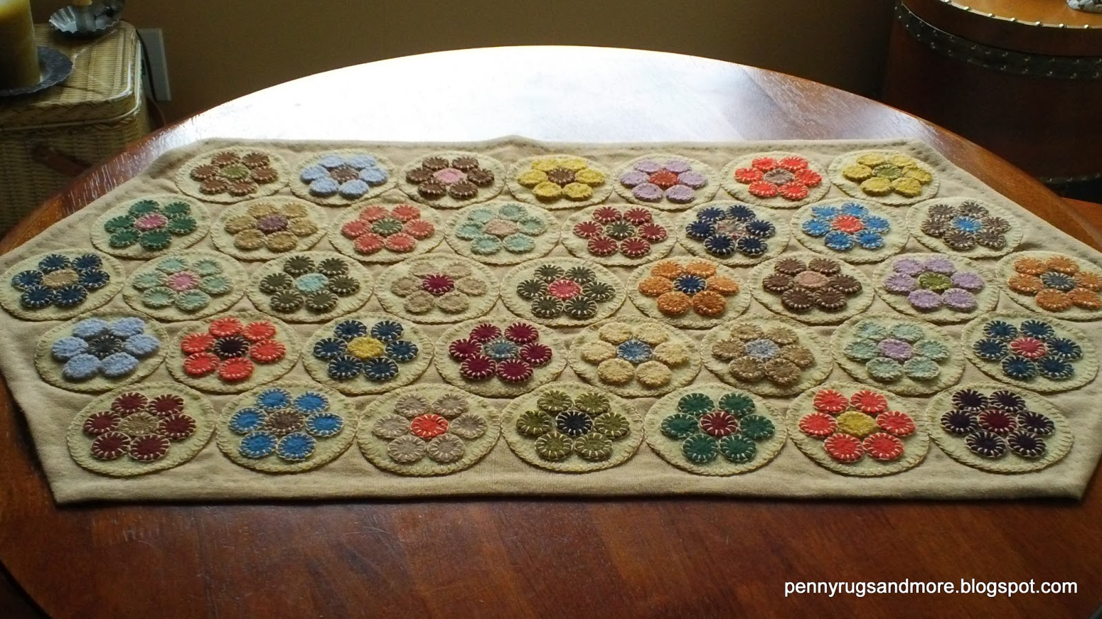Penny Rugs And More Penny Rug Tutorial