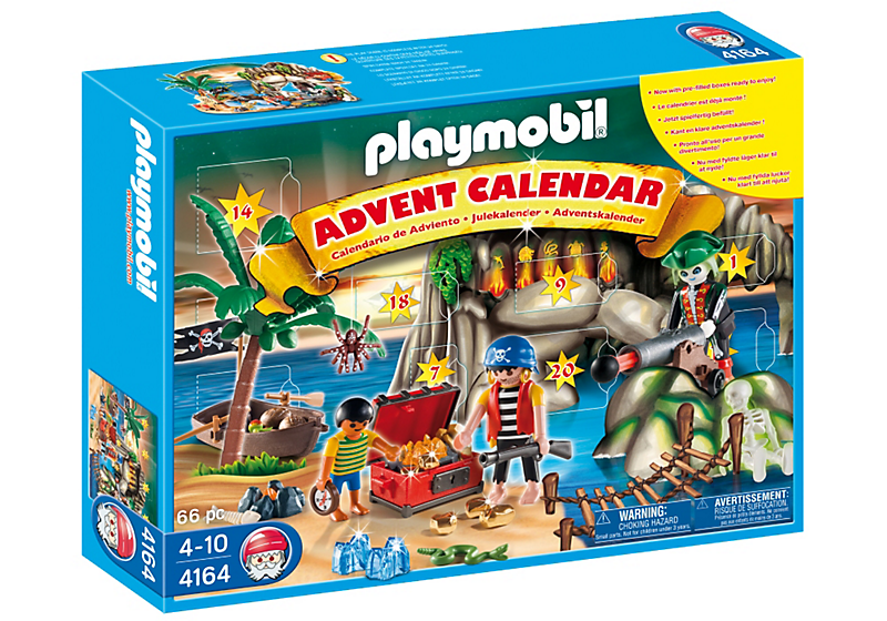 Advent Calendar Playmobil : Inside the wendy house count down days with a