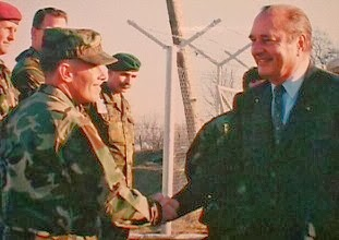 CombatCritic Meets French President Chirac