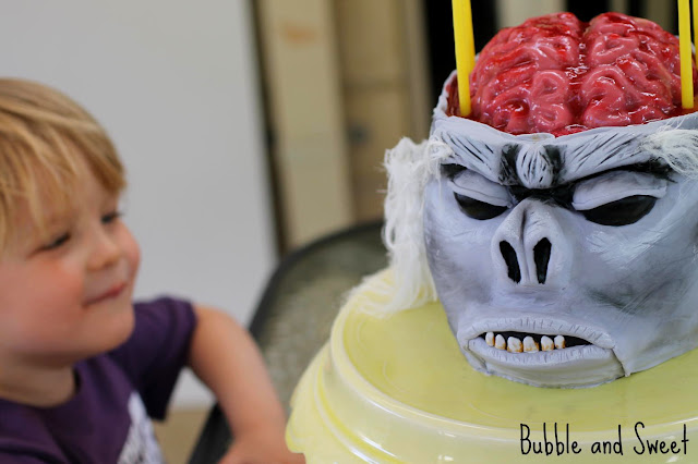 Jelly Filled Brain Cake