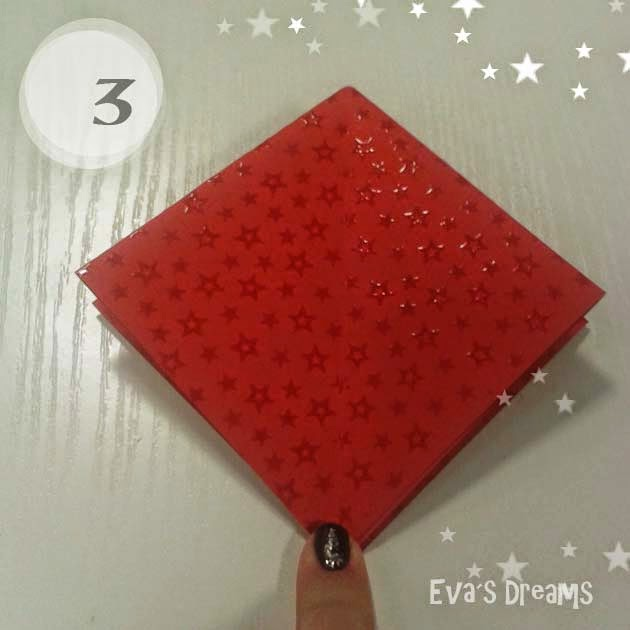 DIY: Origami Tannbaum 2.0 - Step3