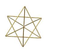 ESPAÑOL: Estrella Tetraedro Merkaba