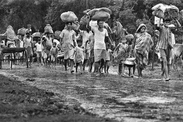 Refugees in 1971