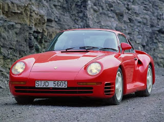 Porsche 959 top speed 195 mph