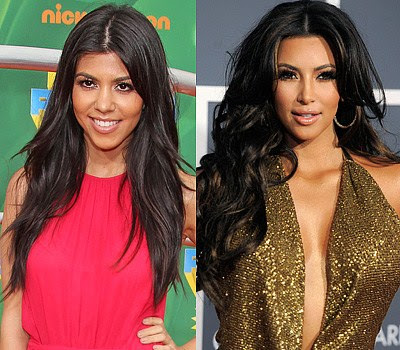 Kourtney and Kim Kardashian Which celebrity is the youngest?