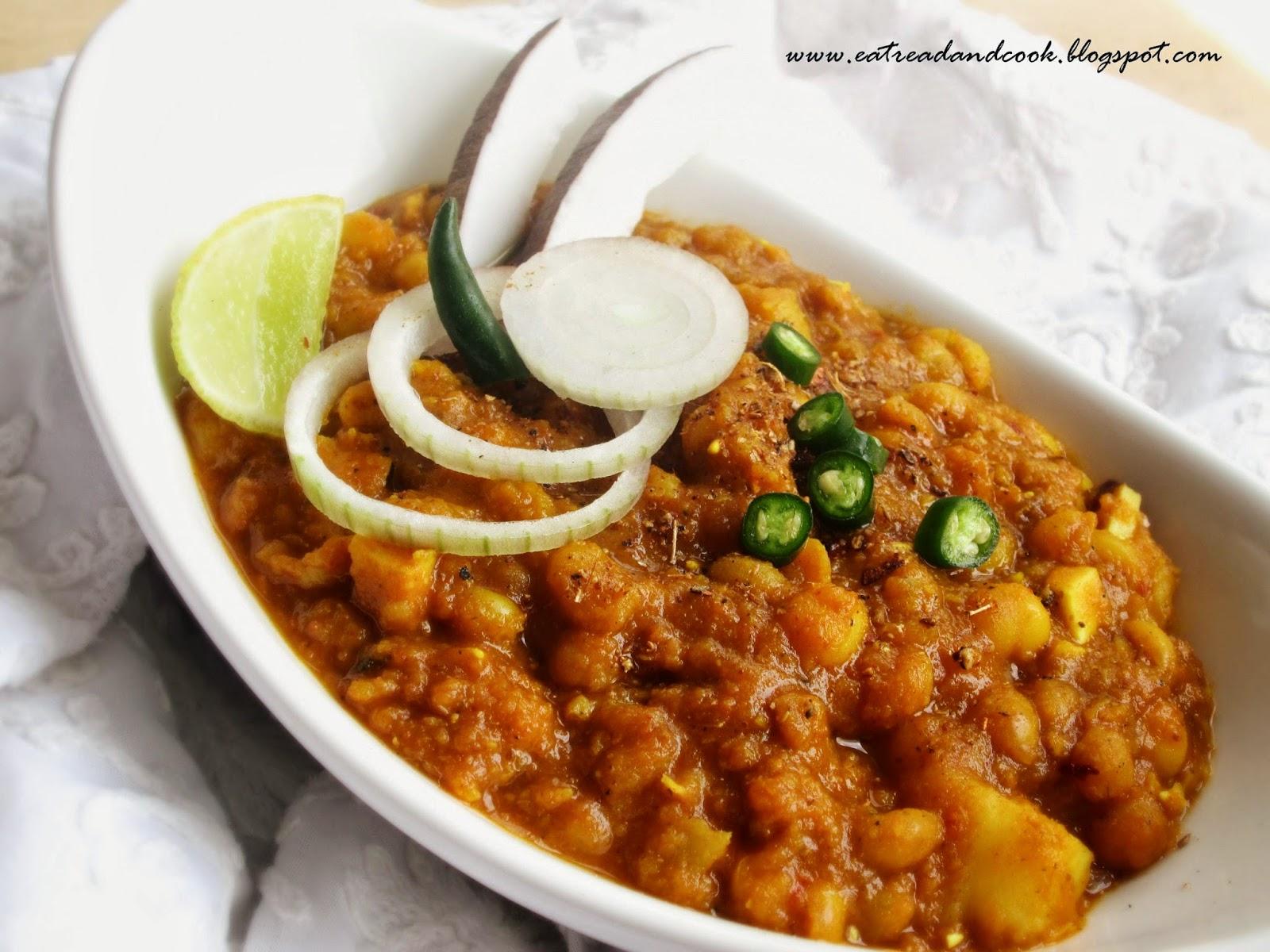 simple ghugni bengali snack recipe