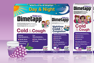 Dimetapp Cold & Cough and combo kit