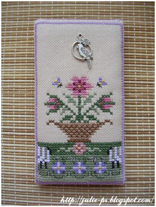 20 flowers Just Nan чехол для мобильного вышивка cross stitch