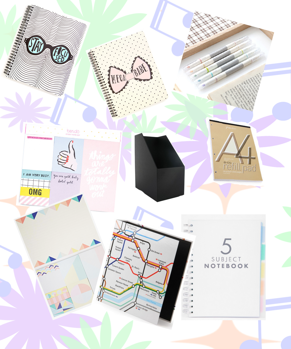uni stationery necessities
