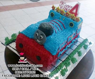 Kue Tart 3d Kereta Thomas Daerah Surabaya - Sidoarjo