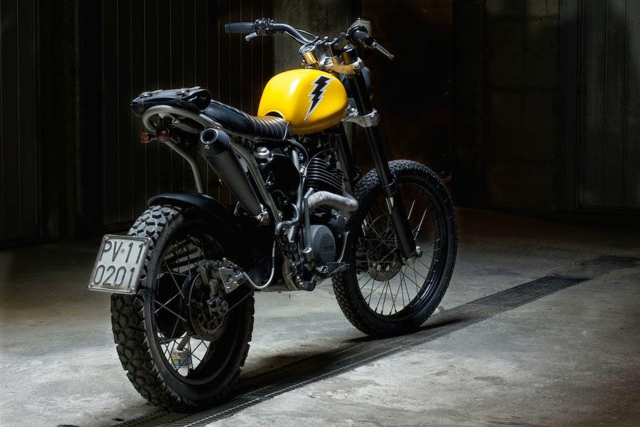 Garage italiano yamaha xt 600 by sartorie meccaniche for Garage significato