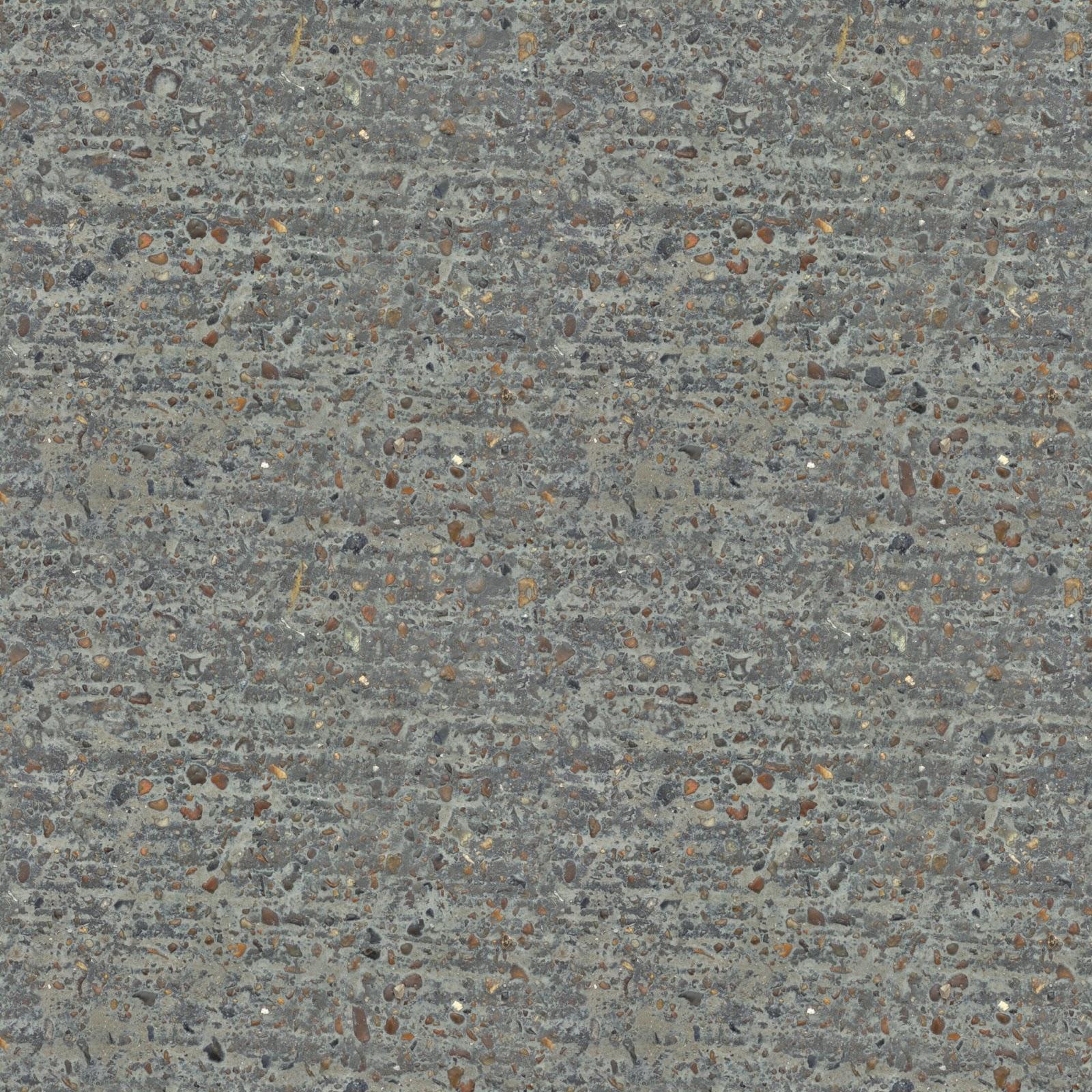 (CONCRETE 14) seamless floor granite stones texture 2048x2048