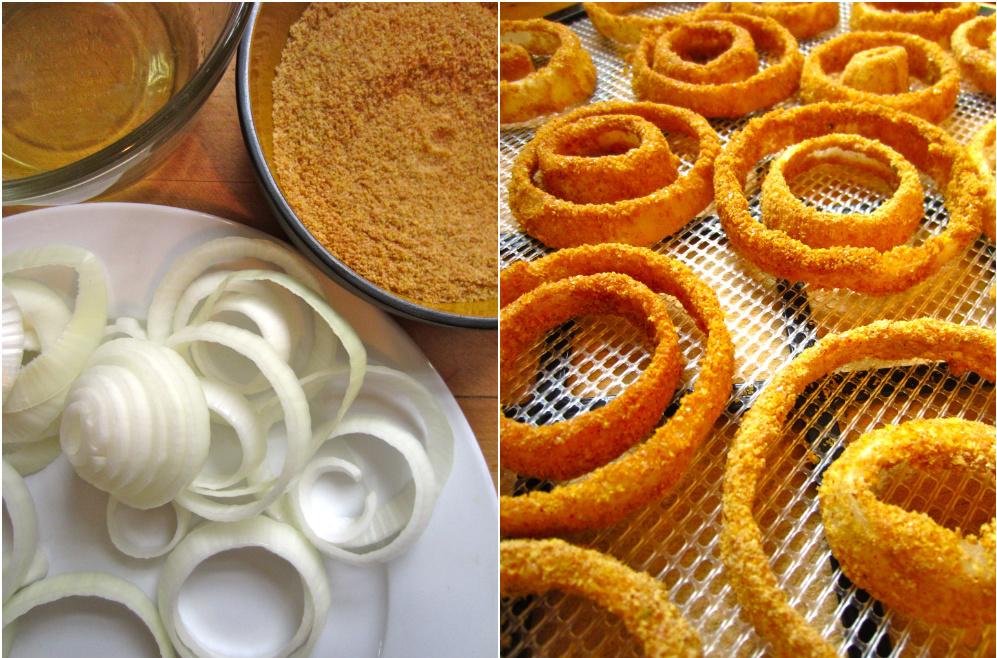 Raw Vegan Onion Rings Recipe ~ The Rings