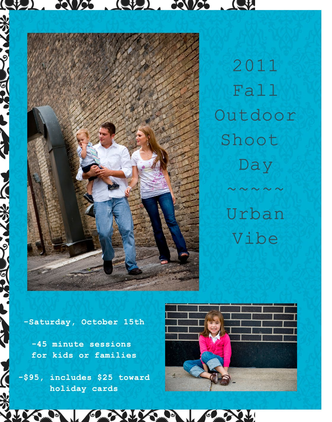 Outdoor family photo shoot ideas for Urban family photo ideas
