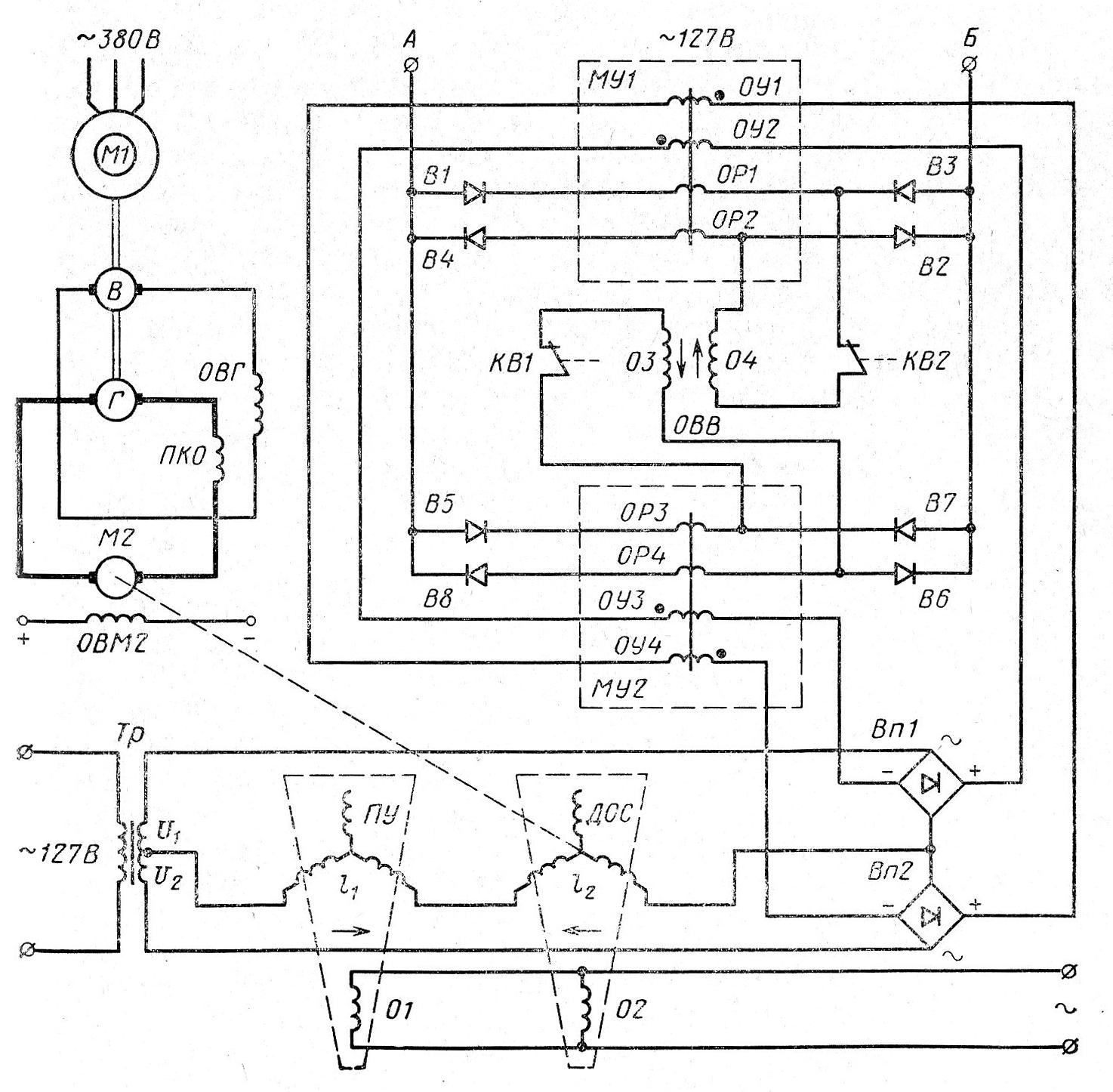 генератор 15 квт схема