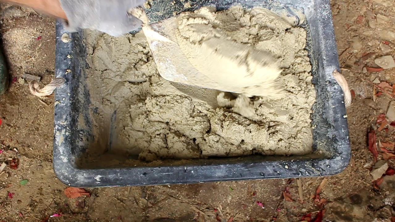 how to make lime mortar
