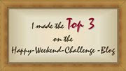 ♥ Top 3 bei Happy Weekend Challenge  / Februar 2013 ♥