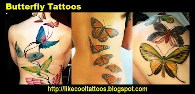 Symbolic Meaning of Butterfly Tattoos
