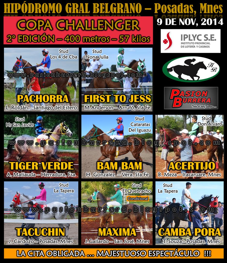 POSADAS - COPA CHALLENGER - 400