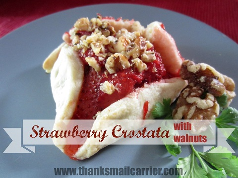 strawberry crostata recipe