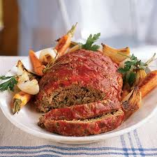 Pastel de carne para bajar de peso