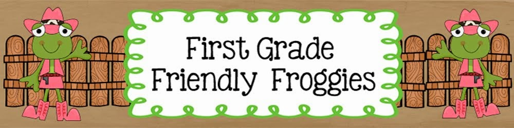 First Grade Friendly Froggies