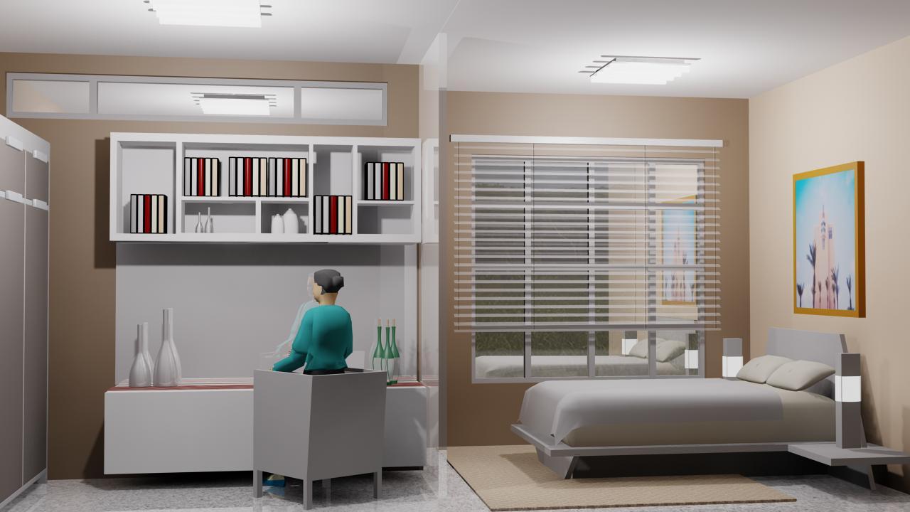 consultan architecture kamar tidur utama