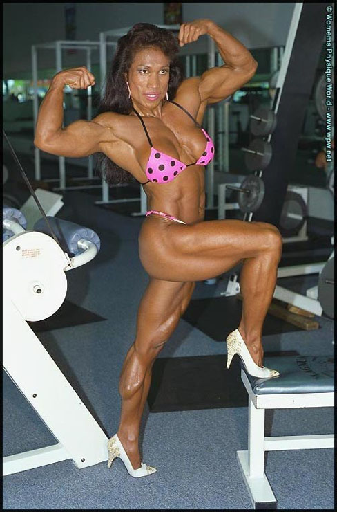 Leilani Dalumpines Female Muscle Bodybuilding Blog WPWMAX